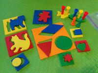Lauri Toddler Shape and Animal Puzzle