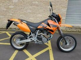 KTM 640 LC4 SUPERMOTO only 638 miles
