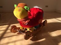 Mamas & Papas 2-in-1 rocking/ ride-on ladybird