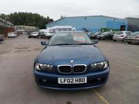 2002 BMW 318 COUPE FULL SERVICE HISTORY