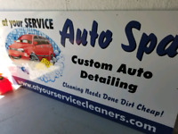 """AUTO DETAILING """" At Your Service Auto Spa"""""""