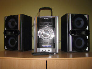 SONY Audio system with CD