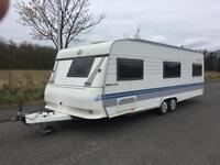 Hobby Prestige 23 feet twin axle 2004 tollet and shower and end bedroom