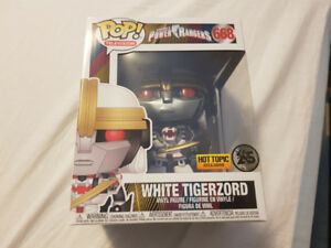 Funko Pops - Kingdom Hearts Power Rangers White TigerZord