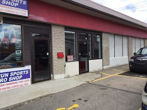 Commercial space for lease