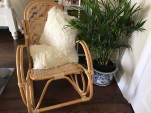 Classic Bamboo Rocking Chair