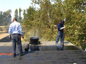 Established tar-and-gravel Flat Roofing crew needed! London Ontario image 3