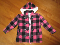 girls fleecy coat 3X