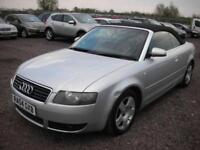 2004 04 AUDI A4 1.8 T 2D 161 BHP