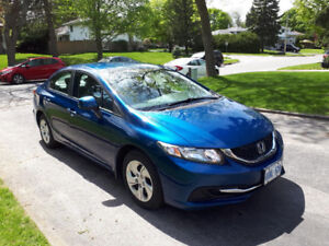 2013 Honda Civic 5 speed