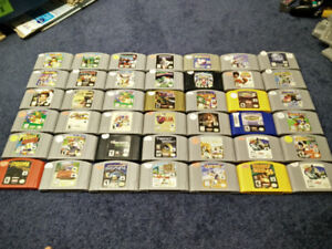 **HUGE SELECTION** Nintendo 64 (N64) Games and Consoles For Sale