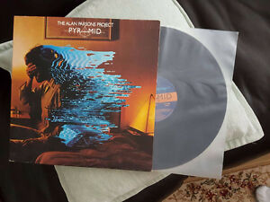 ALAN PARSONS PROJECT PYRAMID GATEFOLD VINYL ! ORIG PRESS MINTY !