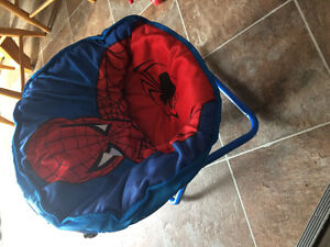 Spider man chair and umbrella