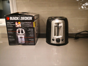 Black and Decker 2 Slices Toaster