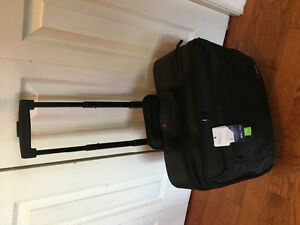 Targus rolling laptop bag NWT