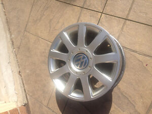 Set of Four 15 Inch VW Alloy Rims for Sale