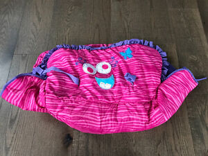 Heidi Klum pink monster shopping cart cover - new