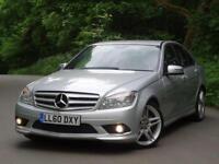 2010 (60) Mercedes-Benz C220 2.1 CDI (170 BHP) Blueefficiency CDI Sport..F.S.H.