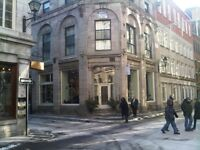 Newly Available: Stunning 2 BR Loft Heart of Old Montreal