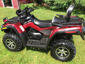 2009 can am outlander max limited low kms