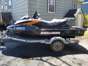 2014 Seadoo RXT260 70+mph Winter special