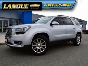 2013 GMC Acadia SLT1  One Owner-Local Trade-Sunroof-7 Pass Leath