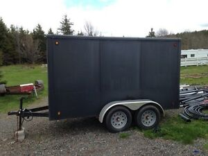 5x12 covered trailer