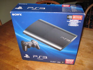 "PS3 "" BOX ONLY "" SLIM VERSION Cambridge Kitchener Area image 1"
