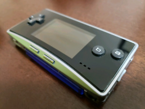 GameBoy Advance Micro + 369 Game Cartridge
