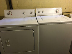 Heavy Duty Roper Whirpool Washer And Dryer