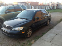 2003 lancer oz. see other ad, need gone asap price reduced!!