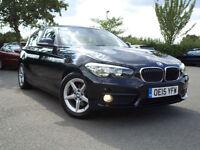 BMW 116 1.5TD ( 114bhp ) ( s/s ) Sports Hatch 2015MY d Eff Dyn PlusSatnav,2 Keys