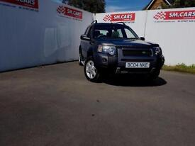 2004 04 LANDROVER FREELANDER 2.0 TD4 HSE 5 DOOR.FULL S/H.2 X KEYS.MASSIVE SPEC .