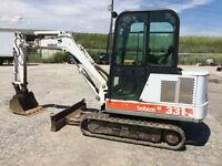Bobcat 331 excavator