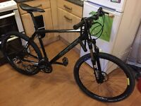 "Boardman mountain bike large frame 20"" very good condition"