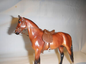Breyer Horse Light Brown Tack