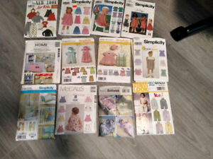 PATTERNS FOR CHILDREN'S CLOTHES