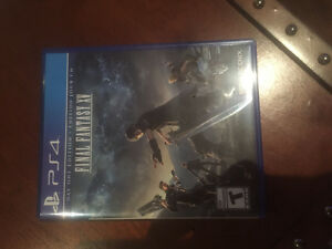 Final fantasy XV PS4 mint condition!!!!!