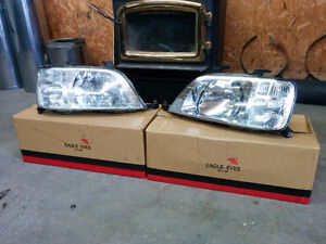 Headlight Honda CR-V 1997-2001