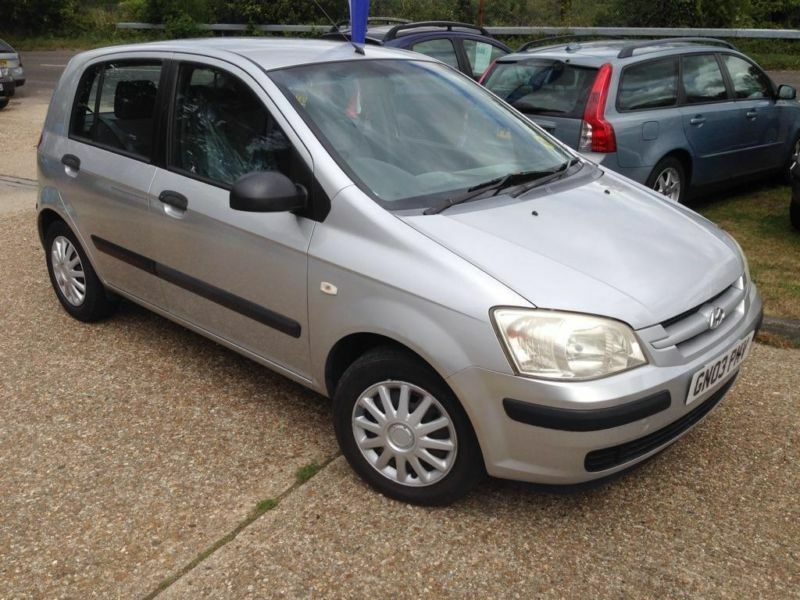 2003 hyundai getz 1 3 gsi 5dr in waterlooville hampshire gumtree. Black Bedroom Furniture Sets. Home Design Ideas
