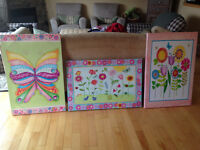 Gorgeous painting for girls room