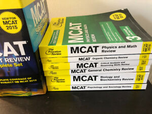 The Princeton Review MCAT Complete Set