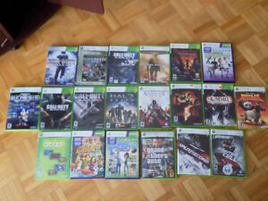 XBOX 360+19 GAMES+KINNECT+3 CONTROLLERS