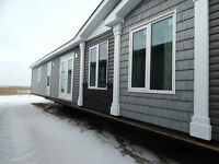 New 16 x 76 3 bedroom 2 bath mobile home.