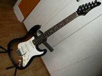 Stratocaster Sunburst Vintage Quest 1990