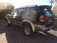 Mitsubishi shogun challenger 2.5 turbo diesel 4x4 low miles 1 years mot drives excellent