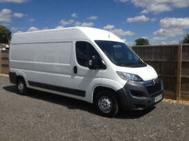 2015 15 CITROEN RELAY 2.2 HDI 130BHP ENTERPRISE SAT NAV AIR CON 1 OWNER FSH