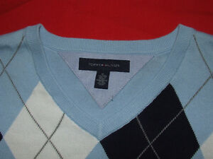 Tommy Hilfiger V-Neck Sweater (Light Blue) - $40.00 Belleville Belleville Area image 2