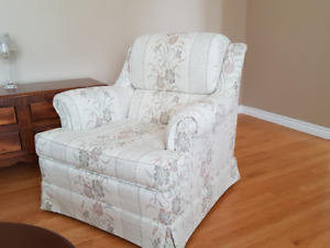 NEW PRICE!!!!      MATCHING SOFA AND ARMCHAIR