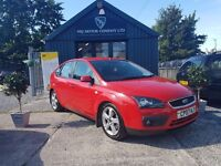 Ford Focus 2.0 TDCI SIV ZETEC CLIMATE (red) 2007